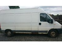 Fiat Ducato 2.8 JTD LWB 2003 - For parts only - Campervan spares/breaking