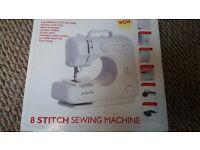 Used twice compact sewing machine