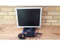 "DGM 17"" computer monitor."