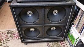 Vintage (70s) HH 412BL Speaker Cab / Amp – 4 X 12 – 200 Watts @ 8 OHMS