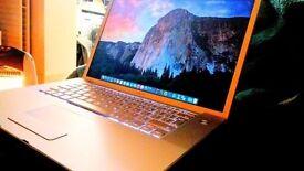 "Apple macbook pro 15.4"" 4gb ram 250gb hdd"