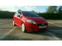 2006 red fiat grande punto sporting not vauxhall ford Renault audi Toyota Nissan