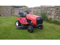 ride on mower sit on mower rally 11hp 36'' cut first £295 no offers