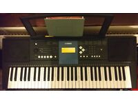 Yamaha PSR-E333 Touch-Sensitive Keyboard, stand included : great to learn the piano