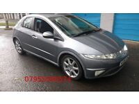 honda civic ex vtec 1.8 2006 06 plate metallic grey