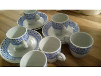 VINTAGE COFFEE SET DUNN, BENNETT (PART OF THE ROYAL DOULTON GROUP