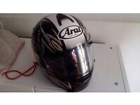 MOTORCYCLE - CLOTHING - ACCESSORIES/ARAI HELMET - EVERYTHING - BARKING IG11 AREA
