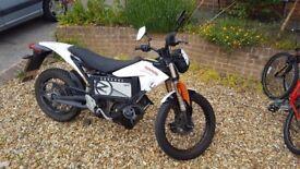 Electric Motorbike Zero XU 2012 model registered Jan 2013 Top Spec Bike