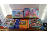 Selection of childrens jigsaw puzzles