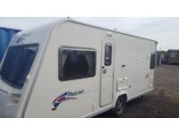 For sale 2007 series 6 bailey pageant 4 berth fixed bed
