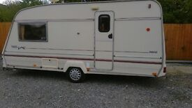 Bailey pagent caravan