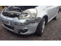 2005 Toyota yaris 5 door ,petrol ,cat C