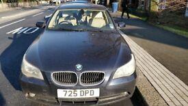 BMW 5 Series 520 iSE 2003 Petrol Manual Metallic Blue