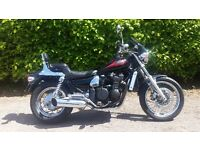 Cruiser Motorbike 1995 Kawasaki ZL 600