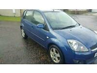 Ford fiesta zetec 2007 *full years mot* (not corsa clio picanto fiesta focus golf astra vectra)