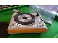 Phillips Rare record player deck with 4 speeds.