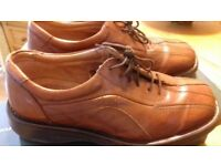 mens smart brown shoes