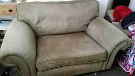 Comfy cuddle chair/sofa