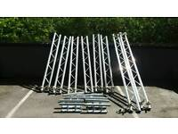 Aluminium stage lighting frame.