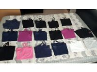 Ladies cami tops size 16to18