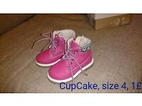 Girls shoes size 3-5