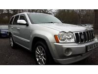 JEEP GRAND CHEROKEE MK3 3.0 CRD V6 DIESEL AUTO OVERLAND 4x4