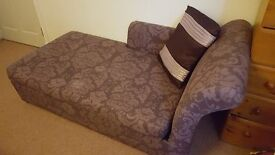 chaise with metal action bed argos selling for £350 Im looking for £200 - Almost New