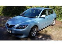 2008 Mazda 3 1.6 TS 5 door petrol hatchback - £2,250 ono