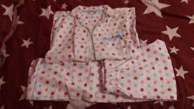 Girls pyjamas age 9-10yrs