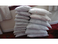 Cushion inners IKEA 10 x 35cm x 35cm and 6 x 50cm x 50cm 1 year old good condition