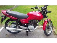 HONDA CG 125 - 2007 RED - MOT until 09/18
