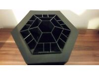 BLACK ROTATING MAKEUP ORGANISER 8£