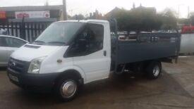 2000 / 60 PLATE Ford Transit Aluminium Dropside Truck & Tail- Lift 115PS T350 LWB NO VAT NO VAT