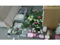 Artificial Flowers bundle and Craft supplies!!