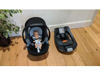 Mamas and Papas pushchair + Cybex Aton baby car seat + docking station