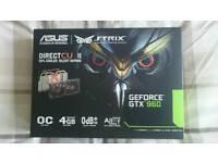Asus Strix Geforce GTX 960 4gb OC edition graphics card
