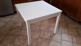 Ikea Bjursta Extendable Table White