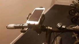 Bike mobile phone holder