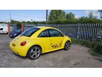 VOLKSWAGEN BEETLE WITH MOT UNTIL 2018