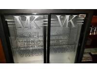 Double bar fridge