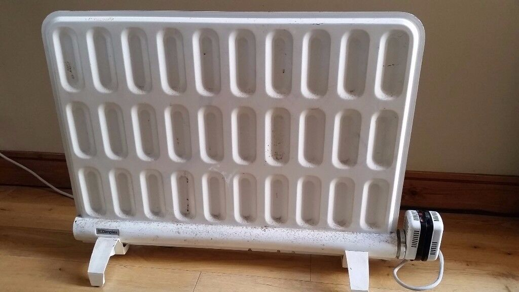 Dimplex electric radiator - white fully working nice and hot