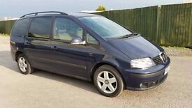 2009 SEAT ALHAMBRA 2.0 TDI DIESEL 6 SPEED MANUAL