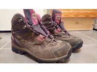 Scarpa ladies walking boots size 8