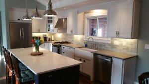 Granite & Quartz Countertops Starting @ $40/sq ft Installed! Free Undermount Stainless Steel Sink Included!