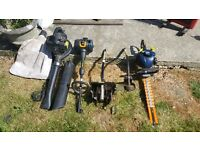 GARDEN POWER TOOLS FOR SALE