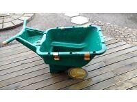 Zag heavy duty plastic wheel barrow upto 90kgs