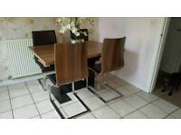 Kitchen table and chairs