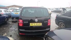 2007 VOLKSWAGEN TOURAN, 2LT TDI, 140 DPF, BREAKING FOR PARTS ONLY, POSTAGE AVAILABLE NATIONWIDE