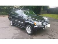 Jeep Grand Cherokee CRD Limited 2.7L Diesel