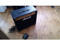 Marshall MG100DFX Guitar Amplifier With Footpedal